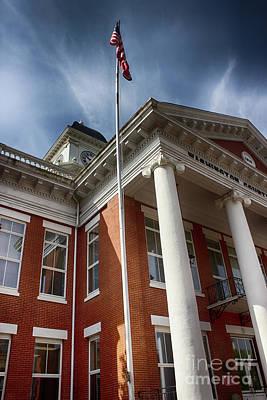 Washington County Courthouse Art Print by Tom Gari Gallery-Three-Photography