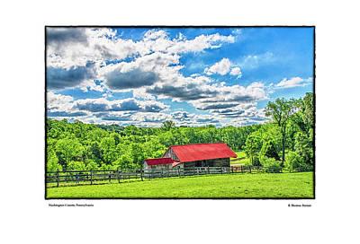Photograph - Washington County, Pennsylvania by R Thomas Berner