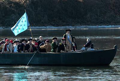 Photograph - Washington Crosses The Delaware by Steven Richman