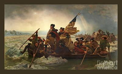 Photograph - Washington Crossing The Delaware by John Stephens