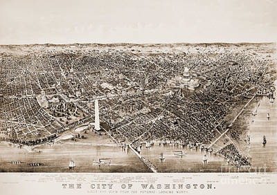 Washington D.c Photograph - Washington D.c., 1892 by Granger