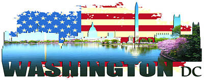 Washington Dc  Original by Don Kuing
