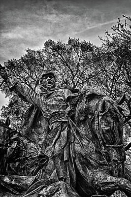 Photograph - Washington Dc Memorial Detail No 16 by Val Black Russian Tourchin