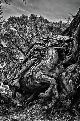 Photograph - Washington Dc Memorial Detail No 20 by Val Black Russian Tourchin