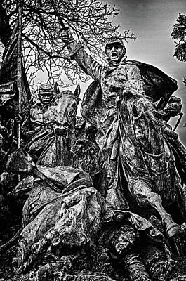 Photograph - Washington Dc Monument Detail No 12 by Val Black Russian Tourchin