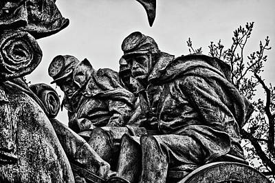 Photograph - Washington Dc Monument Detail No 5 by Val Black Russian Tourchin
