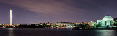 Photograph - Washington Dc Tidal Basin by Ryan Wyckoff