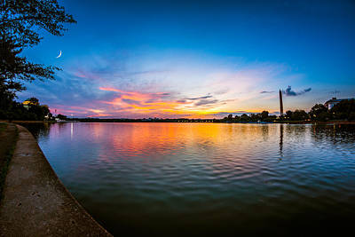 Photograph - Washington D.c. Twilight by Chris Bordeleau