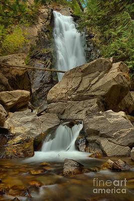 Photograph - Washington Falls Creek Falls by Adam Jewell