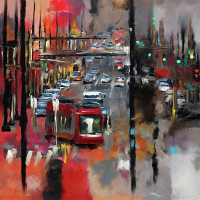 Washington D.c Painting - Washington I 471 1 by Mawra Tahreem