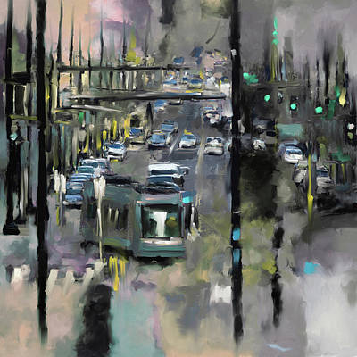 Washington D.c Painting - Washington I 471 4 by Mawra Tahreem