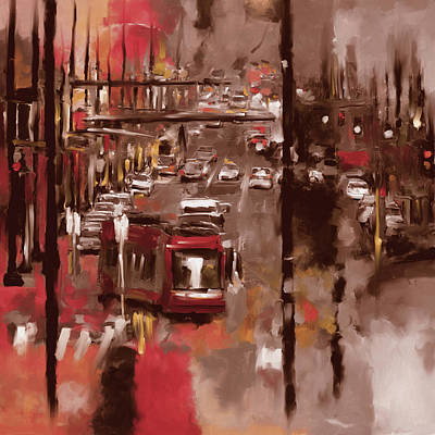 Washington D.c Painting - Washington I 471 II by Mawra Tahreem