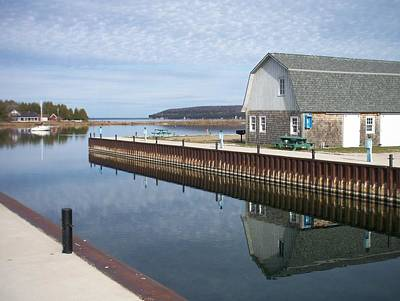 Photograph - Washington Island Harbor 2 by Anita Burgermeister