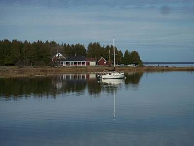 Photograph - Washington Island Harbor 3 by Anita Burgermeister