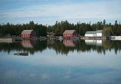 Photograph - Washington Island Harbor 5 by Anita Burgermeister