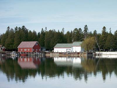 Photograph - Washington Island Harbor 7 by Anita Burgermeister