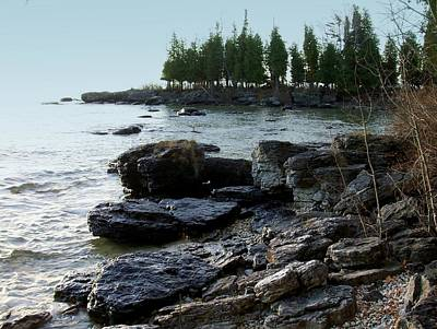 Photograph - Washington Island Shore 1 by Anita Burgermeister