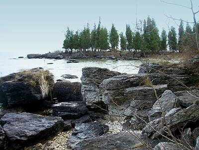 Photograph - Washington Island Shore 3 by Anita Burgermeister