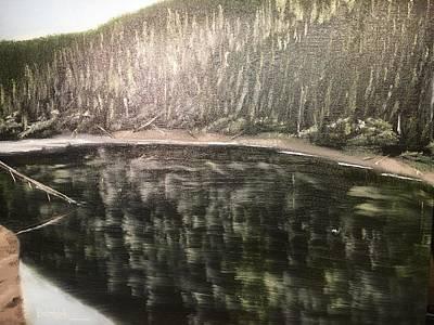 Painting - Washington Lake 2 by David Bartsch