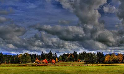 Photograph - Washington Landscape by David Patterson