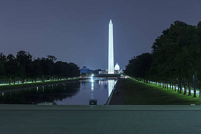 Photograph - Washington Memorial And The Capitol Building by Belinda Greb