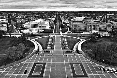 Library Of Congress Photograph - Washington by Mitch Cat