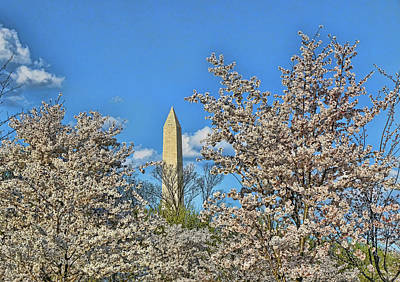 Photograph - Washington Monument # 11 by Allen Beatty