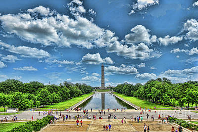 Photograph - Washington Monument # 2 by Allen Beatty