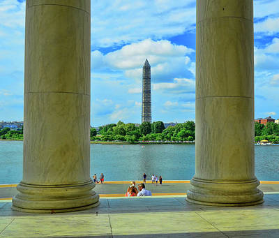 Photograph - Washington Monument # 8 by Allen Beatty