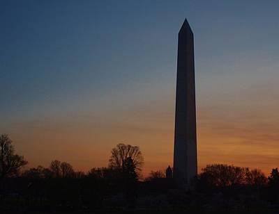 Photograph - Washington Monument 1 by Buddy Scott