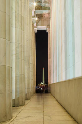Photograph - Washington Monument 1 by Stewart Helberg