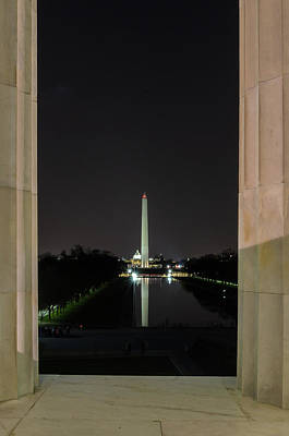 Photograph - Washington Monument 2 by Stewart Helberg