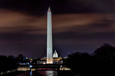Photograph - Washington Monument by Bill Dodsworth