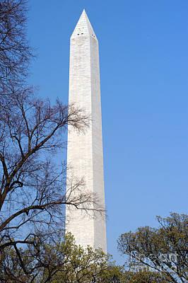 Photograph - Washington Monument by Clayton Bruster