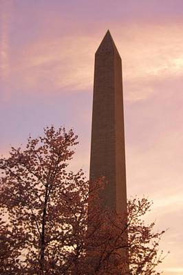 Photograph - Washington Monument Close Up by Buddy Scott
