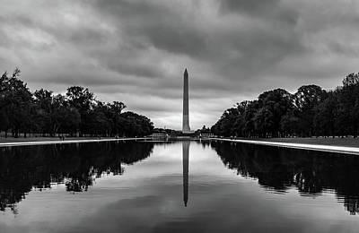 Photograph - Washington Monument by Don Schwartz