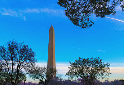 Washington Monument Art Print by Heidi Pix