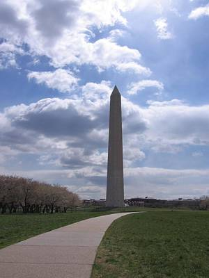 Photograph -  Washington Monument by Karen J Shine