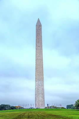 Photograph - Washington Monument by Mark Andrew Thomas