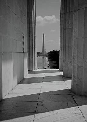 Photograph - Washington Monument by Matt MacMillan