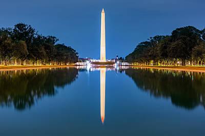 Photograph - Washington Monument by Mihai Andritoiu