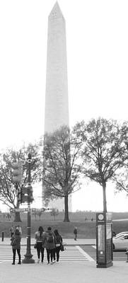 Photograph - Washington Monument  by Rexford L Powell