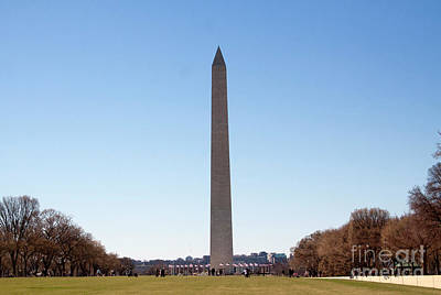 Photograph - Washington Monument  by Ruth Jolly