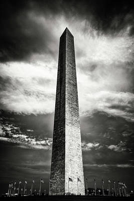 Photograph - Washington Monumentt by Paul Seymour
