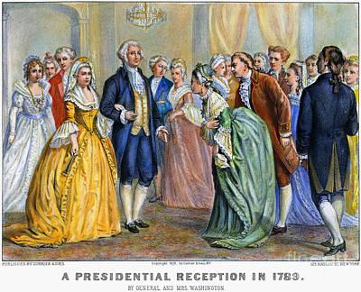 Washington Reception, 1789 Art Print by Granger