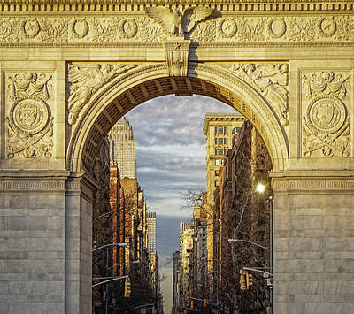 Photograph - Washington Square Golden Arch by Jeffrey Friedkin