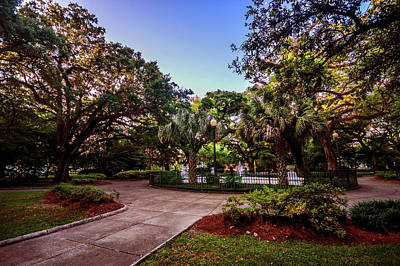Photograph - Washington Square In Mobile Alabana V3 by Michael Thomas