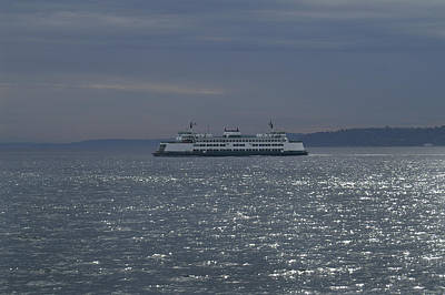 Photograph - Washington State Ferry by Henri Irizarri