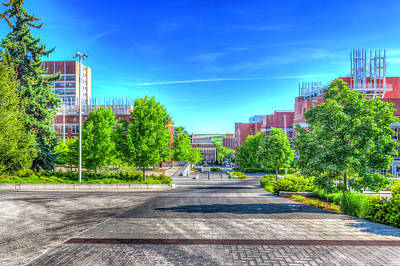 Photograph - Washington State University by Spencer McDonald