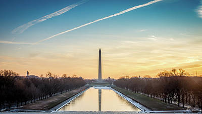 Photograph - Washington Sunrise by Framing Places